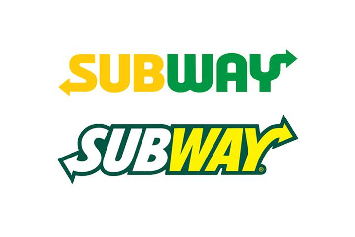 Eat flat – das neue Subway Logo